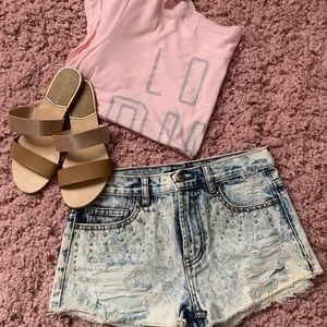PINK Victoria's Secret Tops - Pink Scoop Back T-shirt
